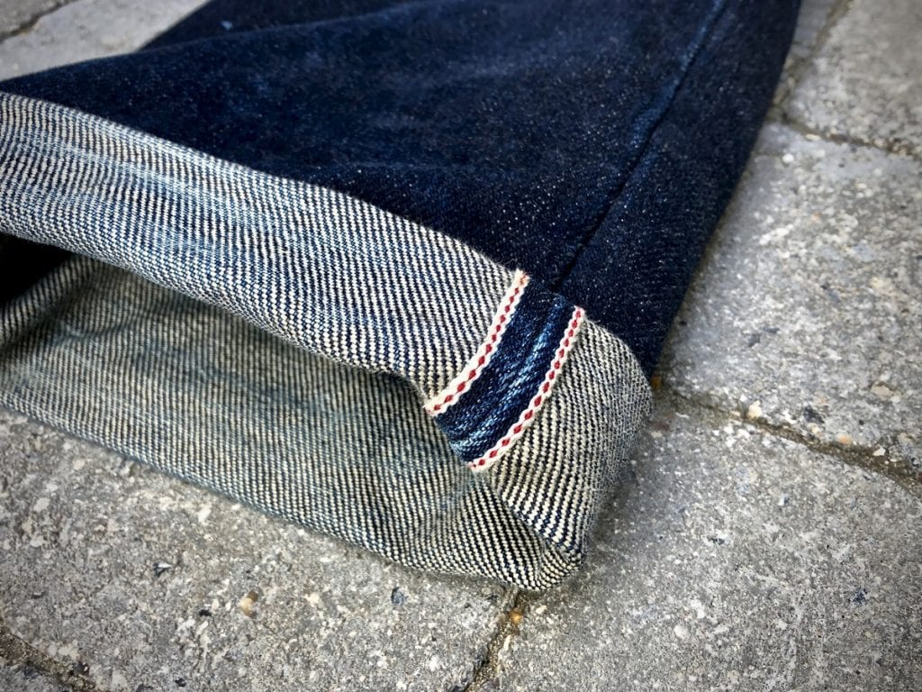 How to take pictures of jeans, iPhone, selvedge, Iron Heart jeans,