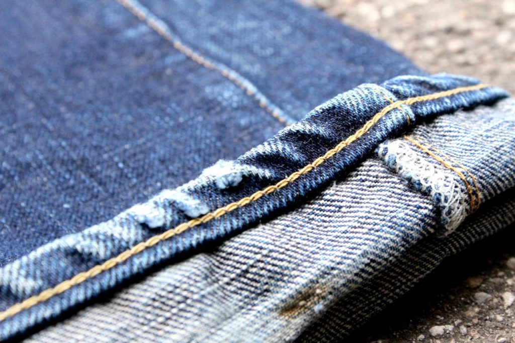 Denim glossary - roping effect