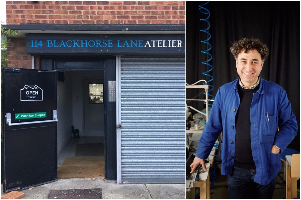Blackhorse Lane Ateliers and owner, Han Ates