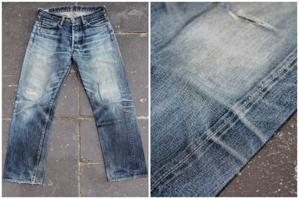 Leg twist Momotaro jeans