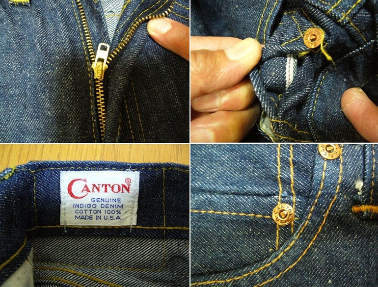 Canton jeans