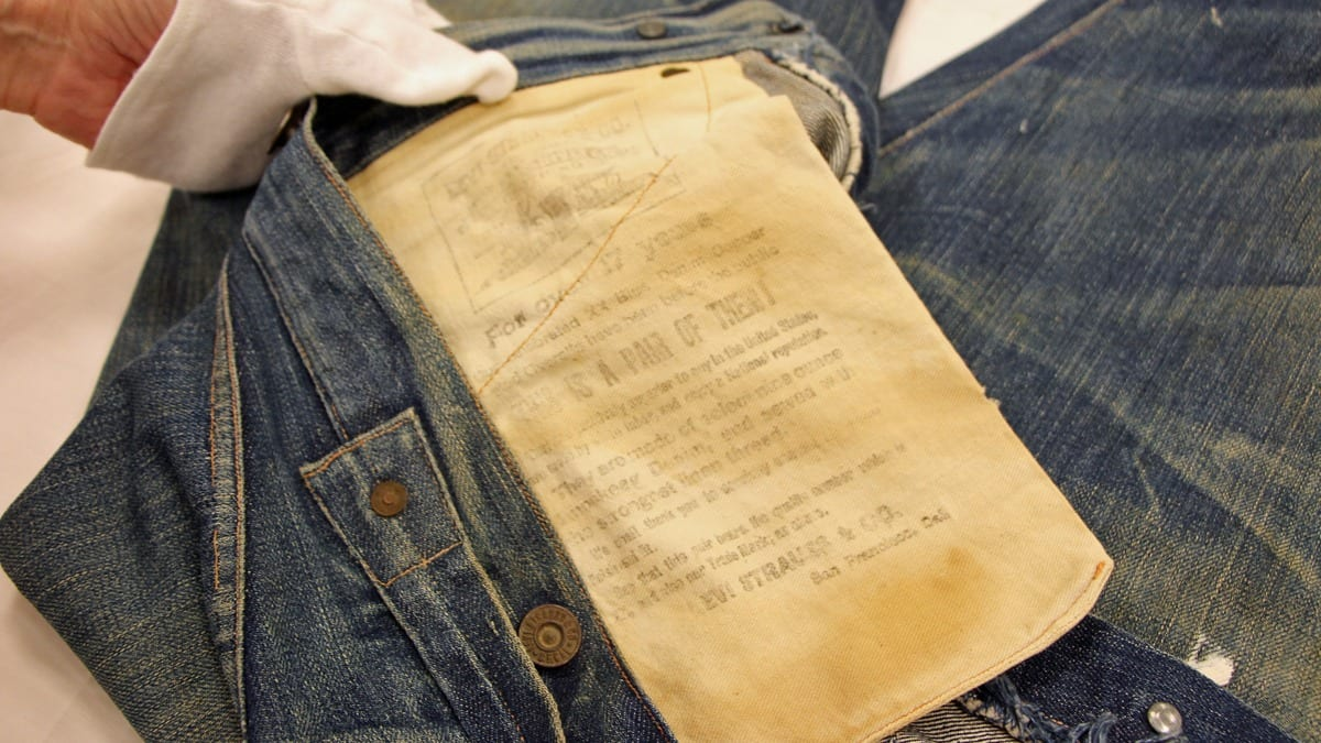 Levi's now boast an astounding 127 of making jeans