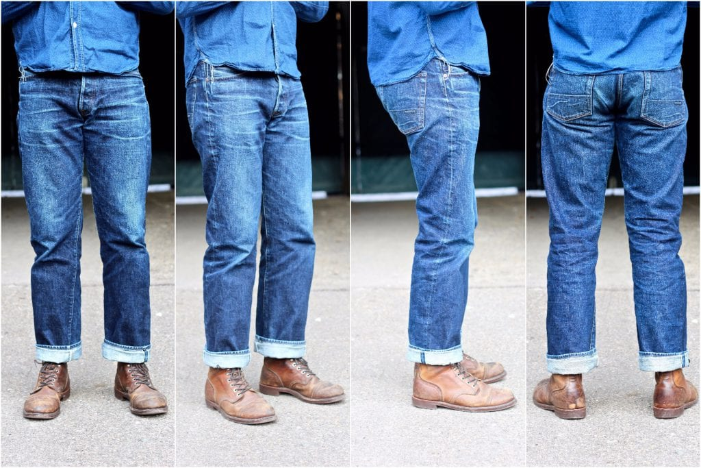 Loose fit Indigofera Kirk jeans