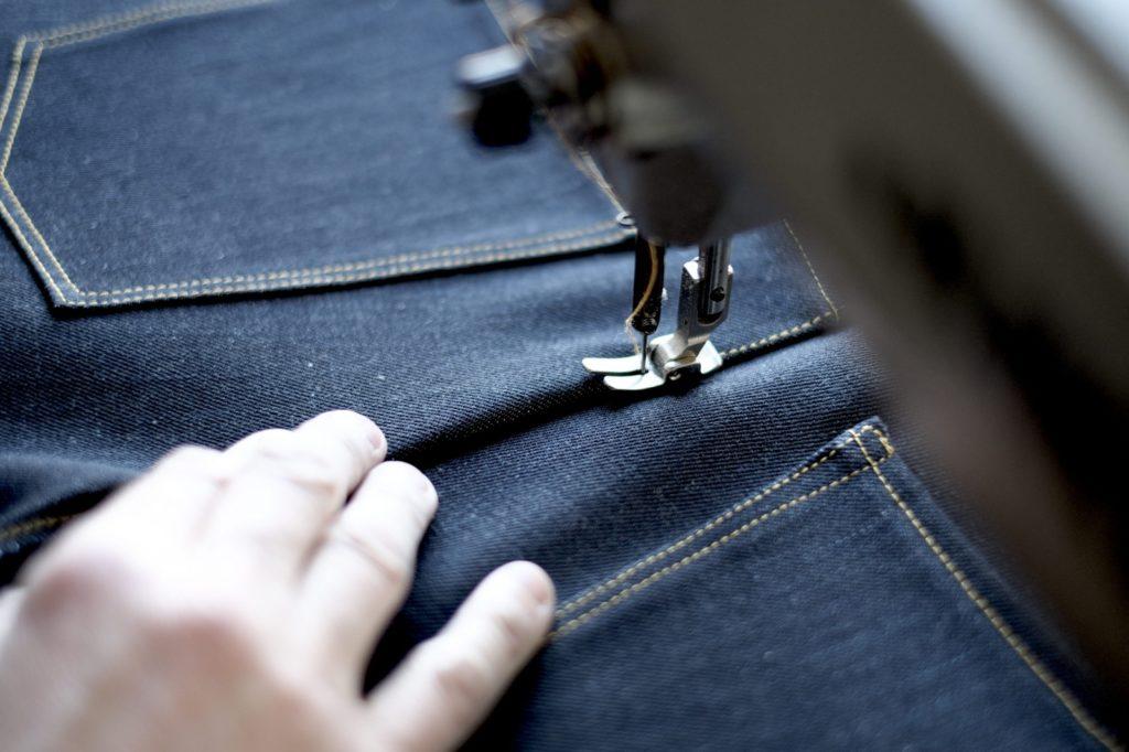 Paul Kruize jeans stitching back rise