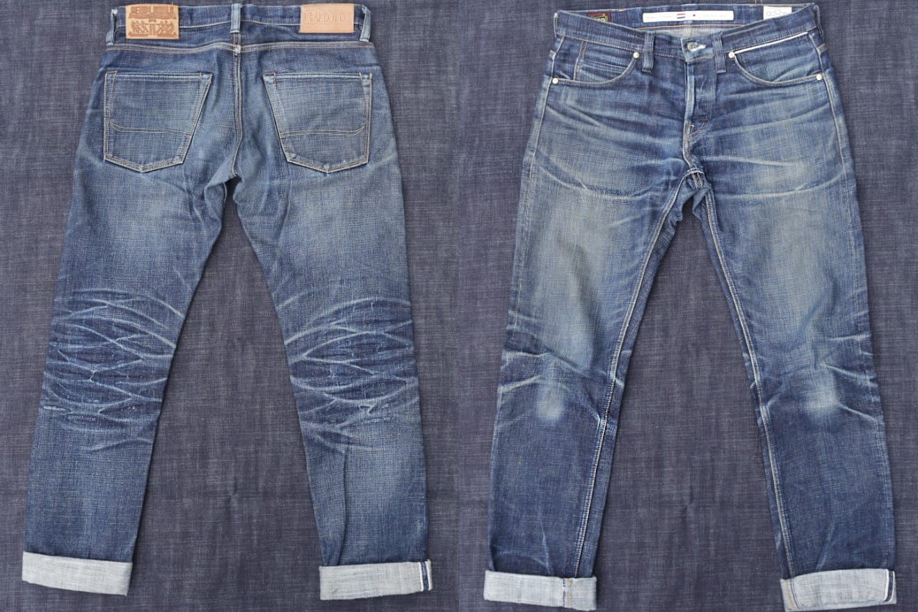 Artisan Challenge third place Benzak Denim Developers faded raw denim jeans