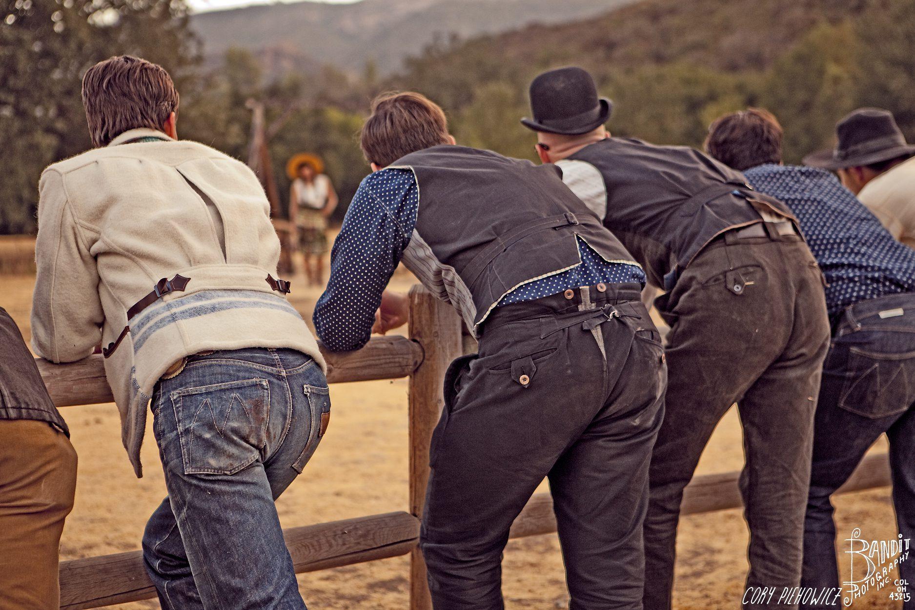 Mister Freedom jeans back pockets