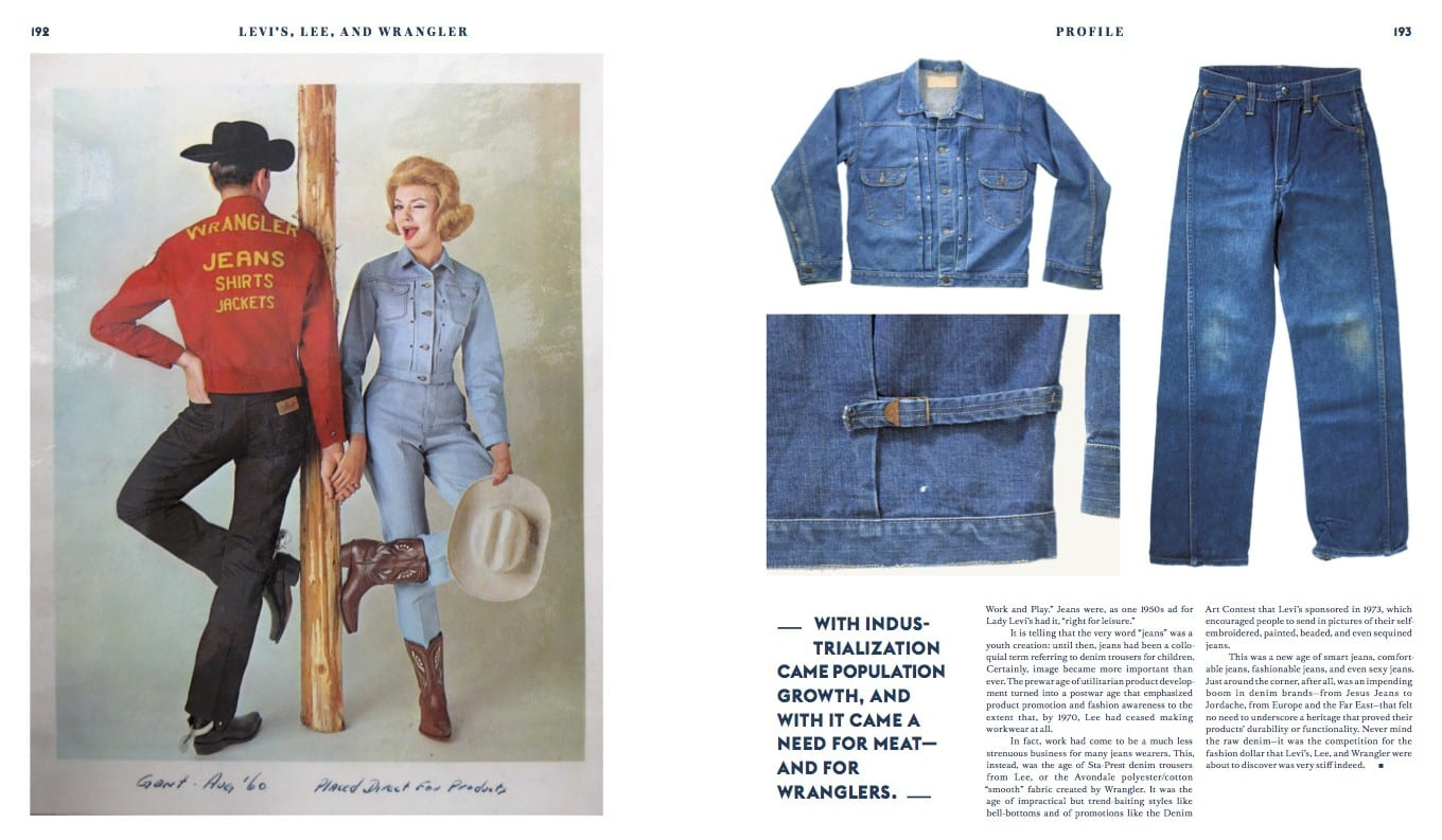 Wrangler profile in Blue Blooded book