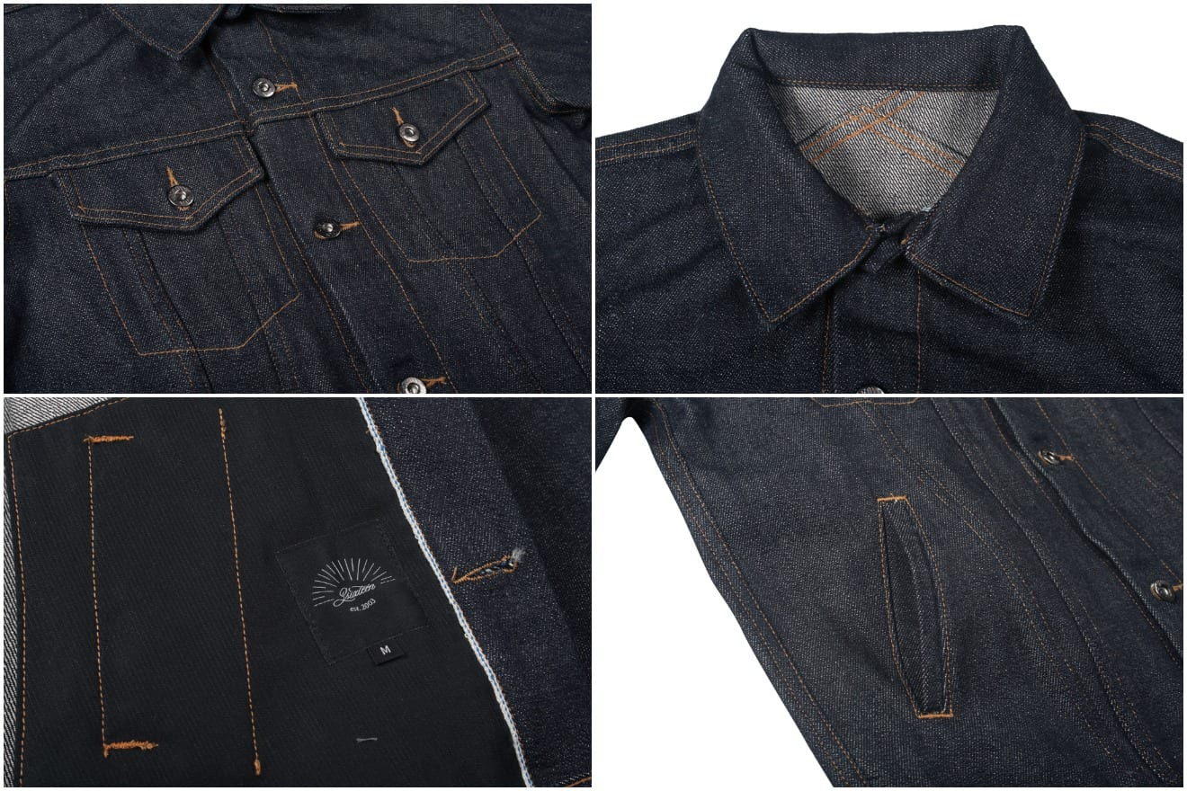 3sixteen Modified Type III Jacket Caustic Wave details