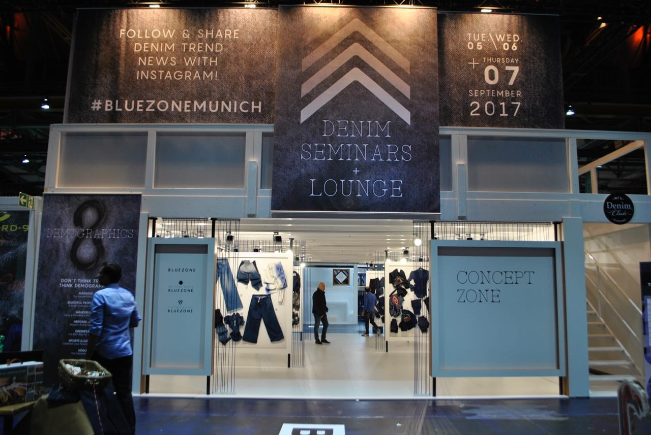 Munich Fabric Start Bluezone September 2017 Concept Zone