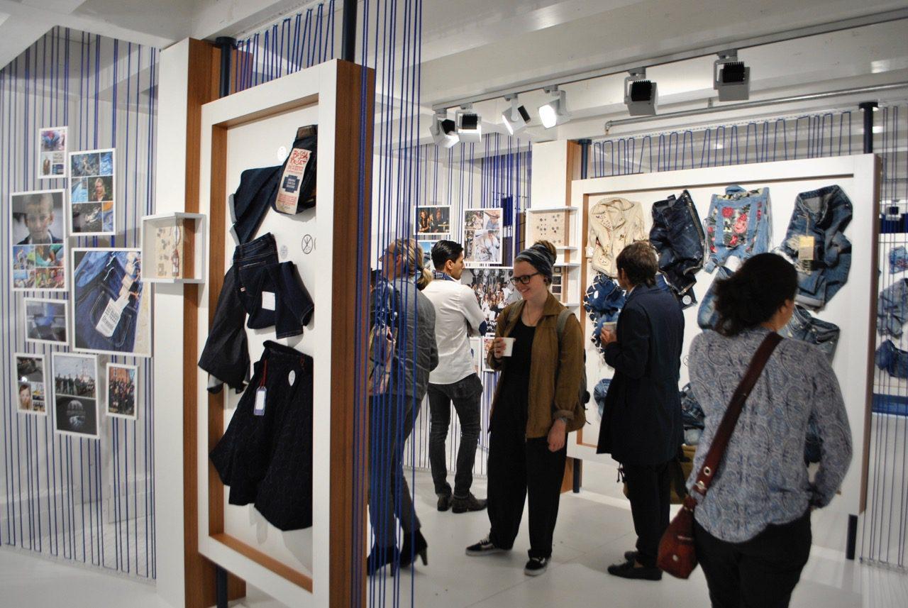 Munich Fabric Start Bluezone September 2017 Concept Zone visitors