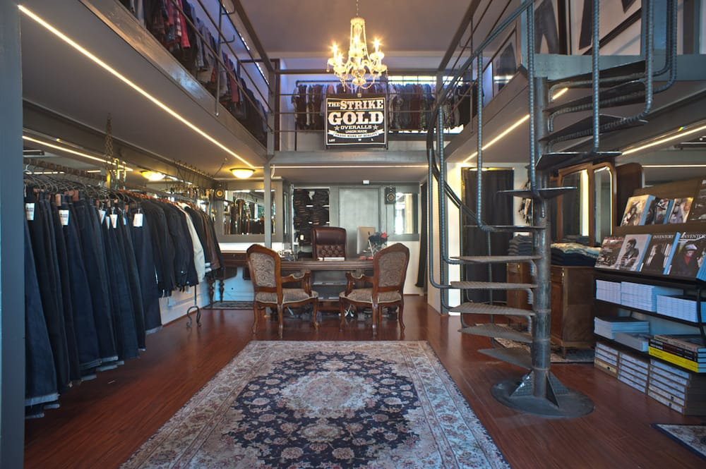 Inside the Self Edge store in San Francisco