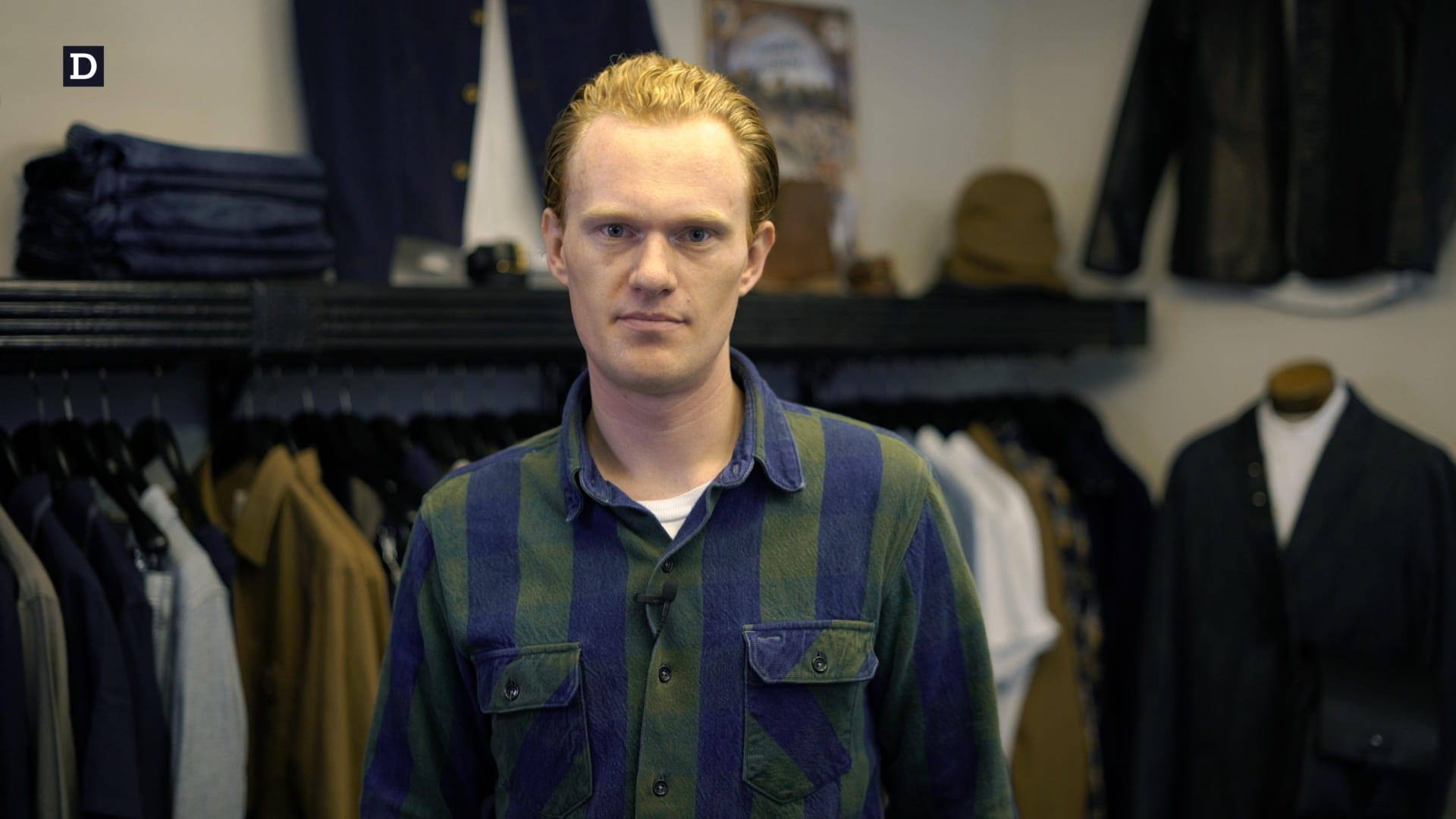 Thomas Stege Bojer in Denimhunters Academy Denim 101 course intro video