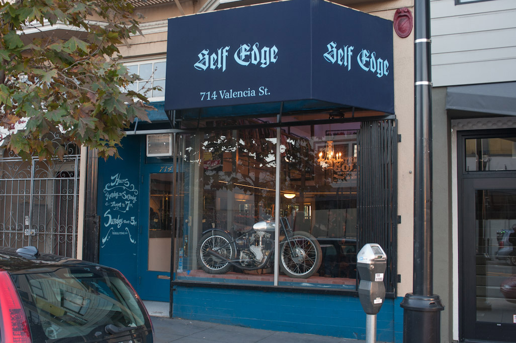 The Self Edge store in San Francisco