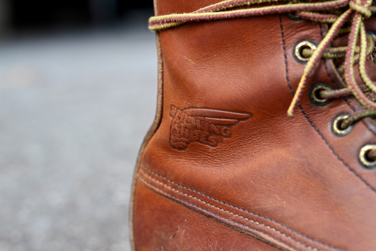Red Wing 877 Oro-iginal leather