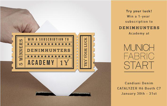 Candiani Denimhunters Academy Raffle