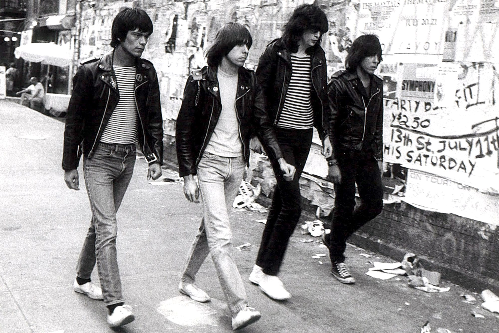 How to style jeans The Ramones rock n roll archetype