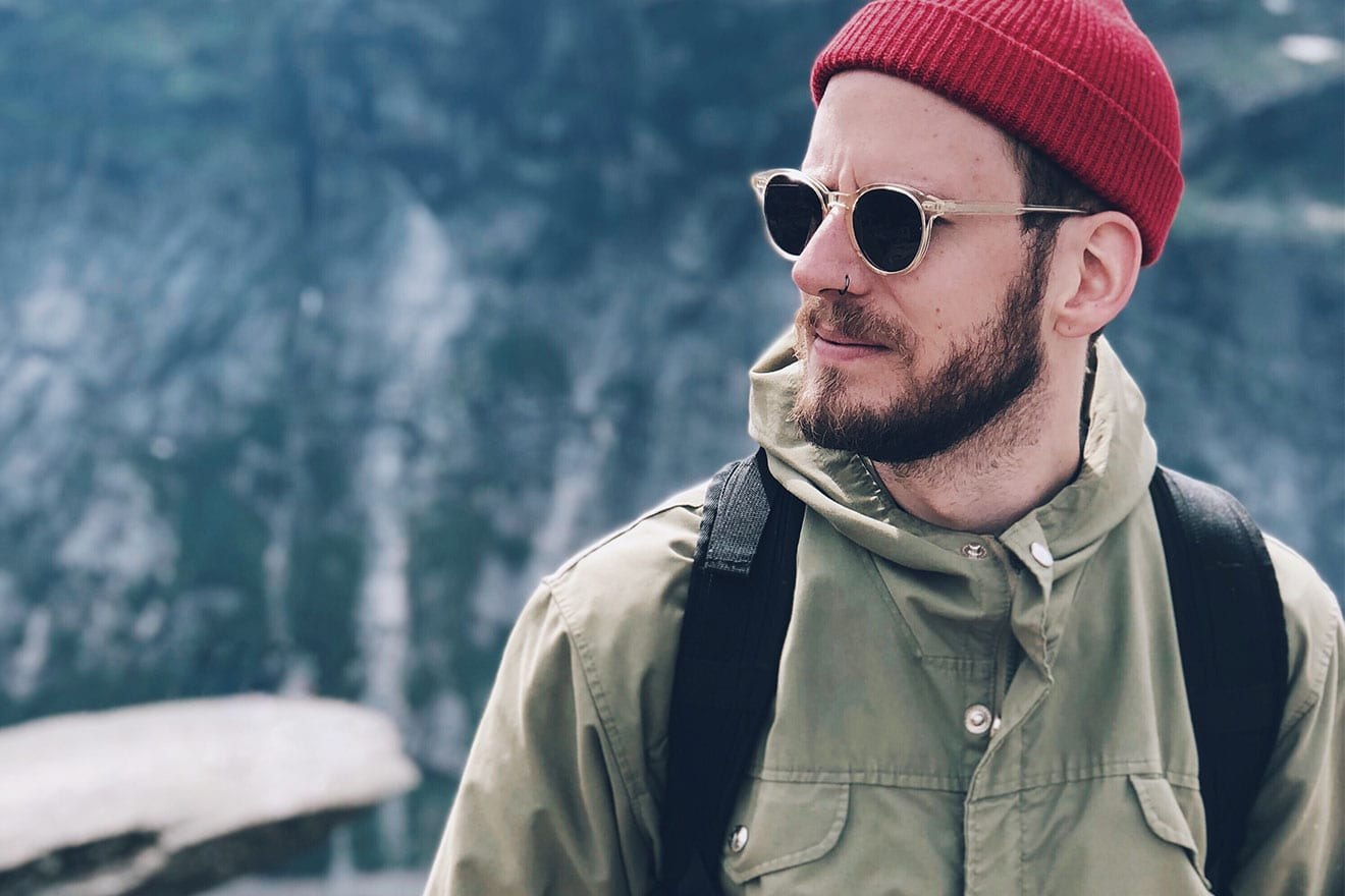 Blue Blooded, interview, Denimhunters, thedenimjournal, red beanie, Fjällräven, Fjallraven