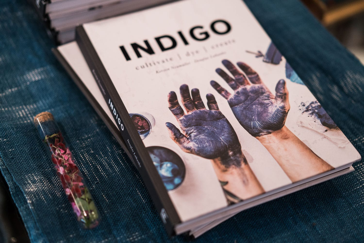 Denimhunters, Indigo, handbook, launch event, Second Sunrise