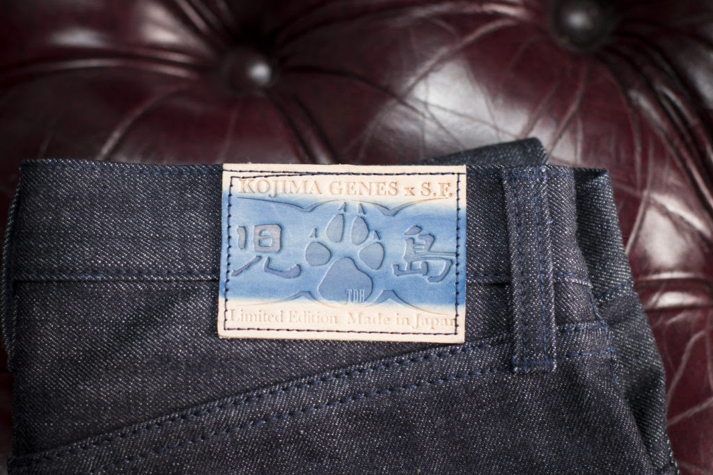 The Denim Hound x Kojima Genes x SF, collaboration jeans, raw denim, selvedge denim, japanese denim, Kojima Genes, Denimhunters
