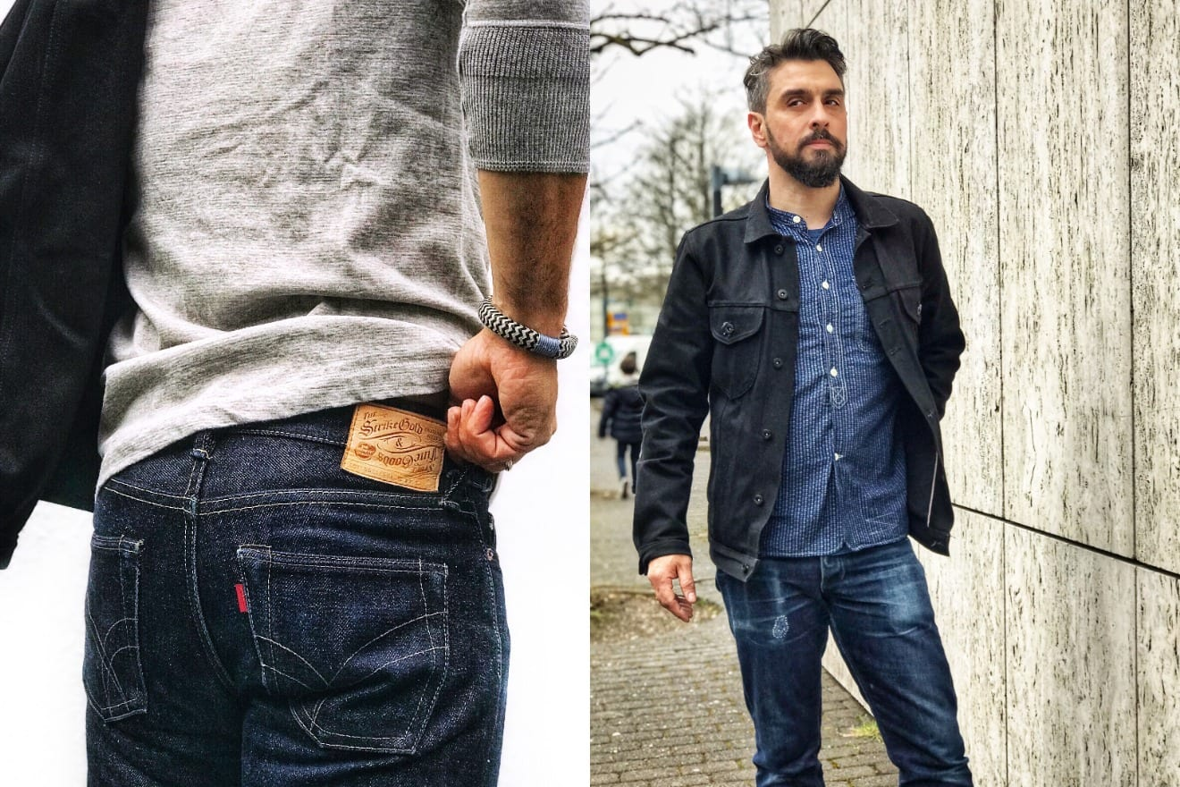 Blue Blooded, Instagrammer, vonabiszett, Denimhunters, raw denim, selvedge