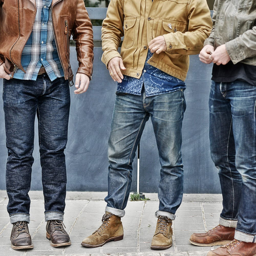 Denimhunters, Blue Blooded, Instagrammer, yonagrinberg, raw denim, Red Wing boots, selvedge denim, Tel Aviv,