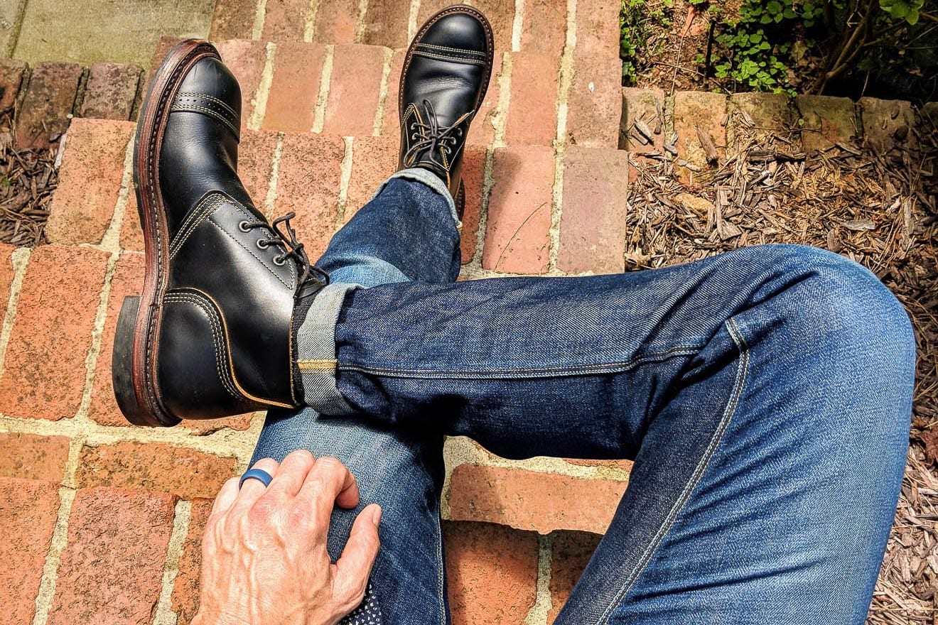 Denimhunters, Blue Blooded Q&A, ruggedworkwear, raw denim, Shockoe Atelier