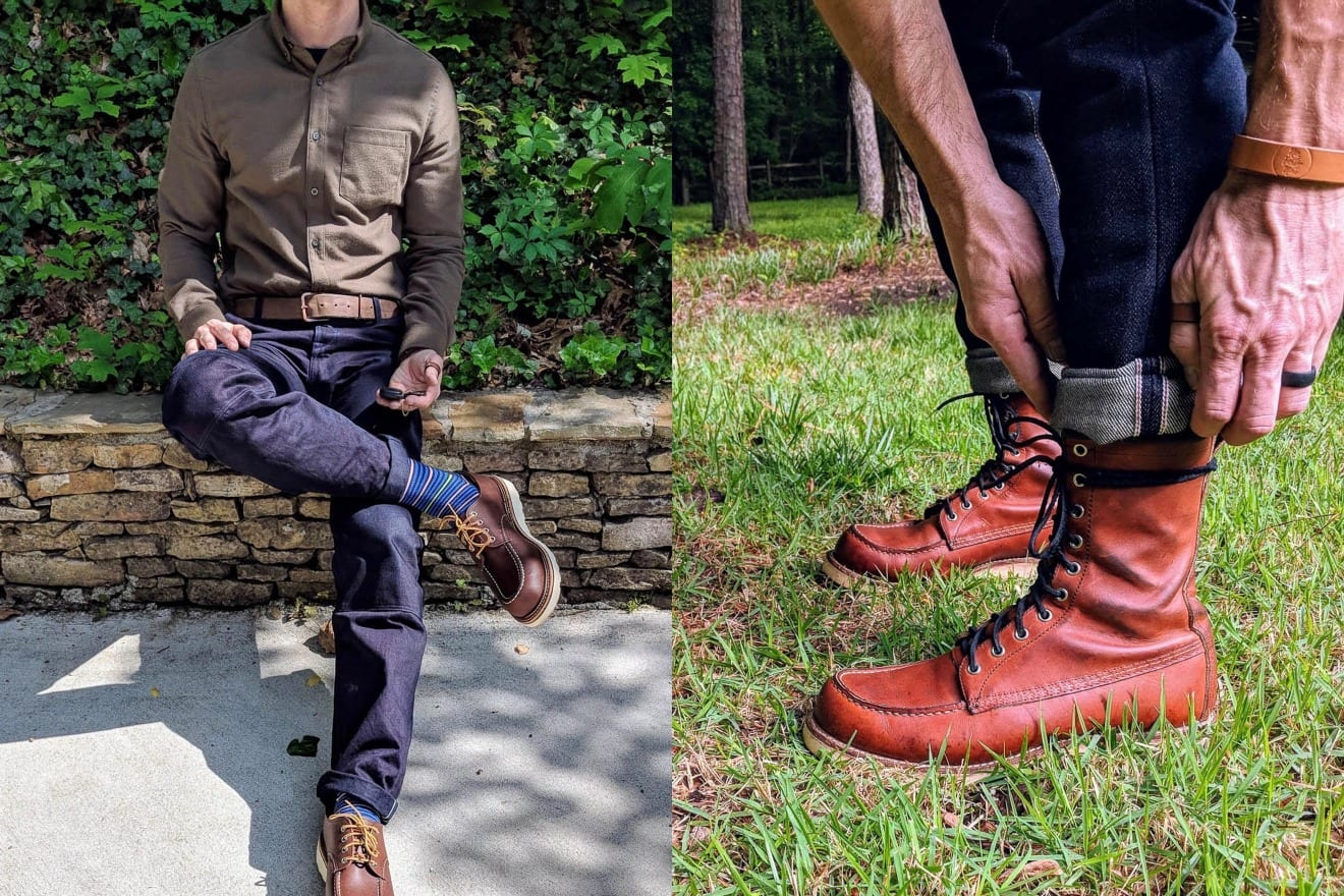 Denimhunters, Blue Blooded Q&A, ruggedworkwear, Red Wing