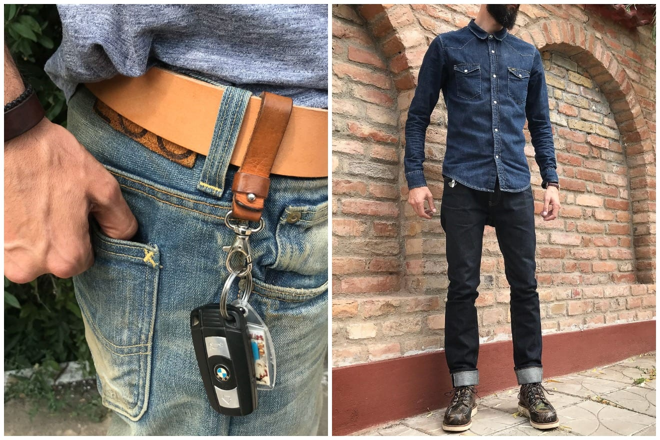 Blue Blooded, Instagrammer, daniel_petre_toma, Denimhunters, raw denim, Romania, Lee jeans