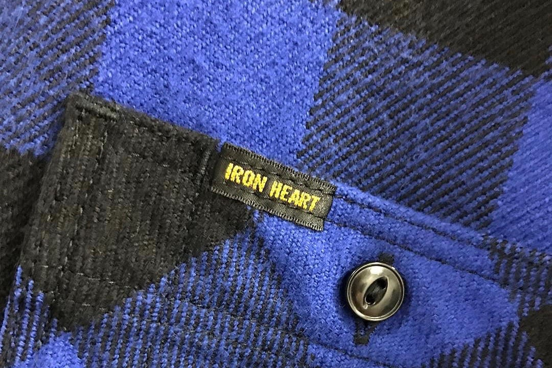 Must-follow Instagrammers. Iron Heart army. heavyweight denim, made in Japan, raw denim, Iron Heart, ultra heavy flannel, UHF