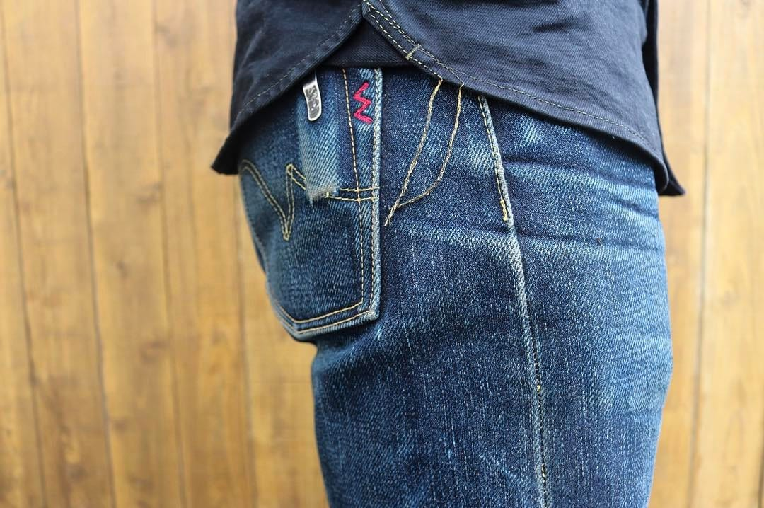 9d7f1528 Iron Heart army. heavyweight denim, made in Japan,