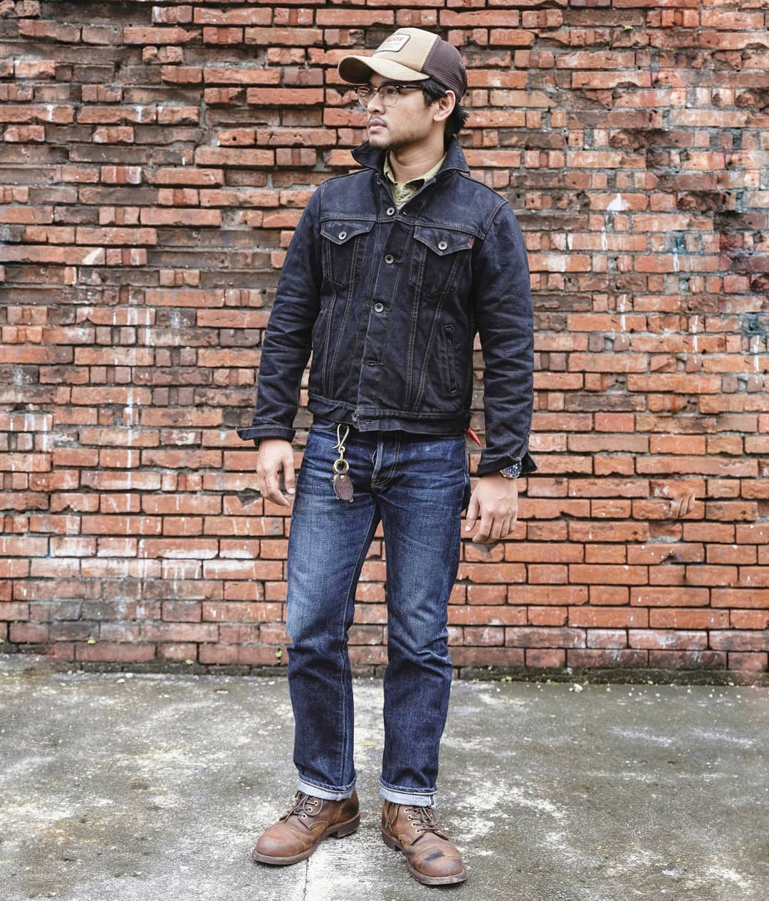 Must-follow Instagrammers. Iron Heart army. heavyweight denim, made in Japan, raw denim, Iron Heart