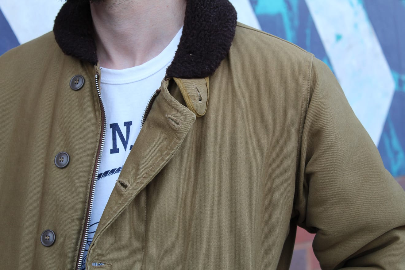 N1, deck jacket, Denimhunters, vintage military, Will Varnam, guest blog post, Pike Brothers, Buzz Rickson's