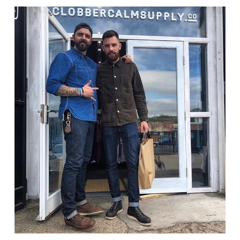 Blue Blooded, Instagrammer, Denimhunters, thedenimdaze, raw denim, Clobber Calm Supply Co