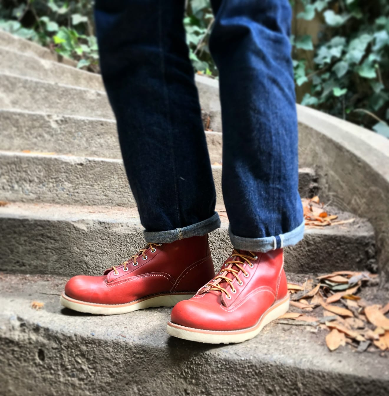 Blue Blooded, Instagrammer, sanforizedson, Denimhunters, raw denim, Bay Area, selvedge denim, Red Wing boots, Red Wing, Red Wings, Lineman