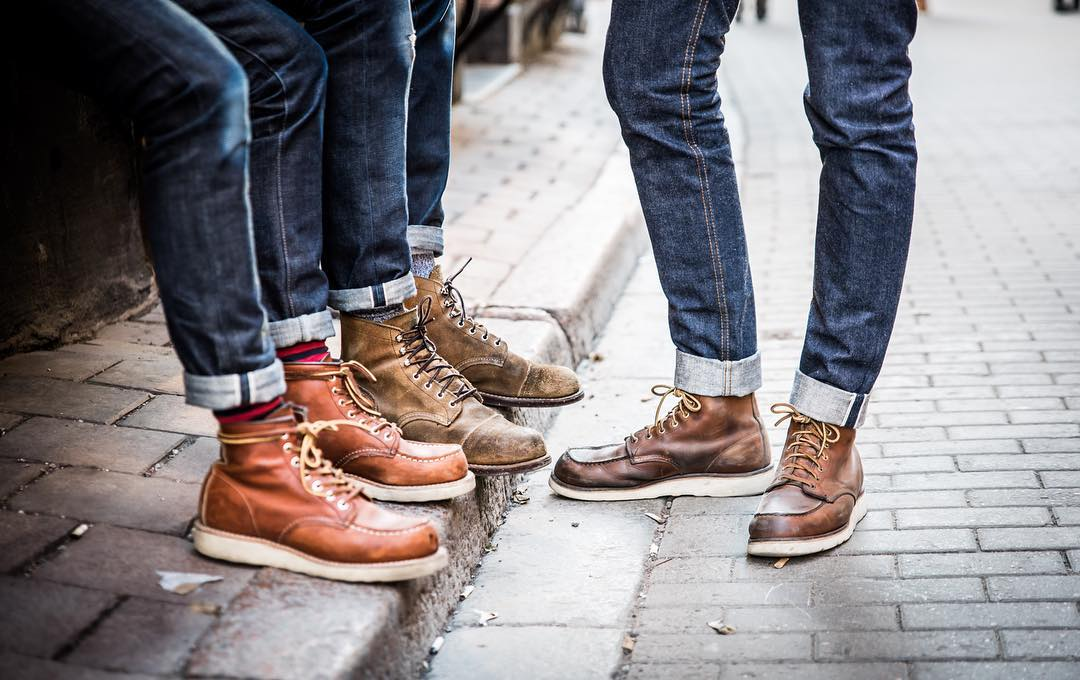 Denimhunters, Blue Blooded, Instagrammer, redrawdenim, Q&A, Sweden, raw denim, Red Wings, Moctoe, 875, Iron Ranger