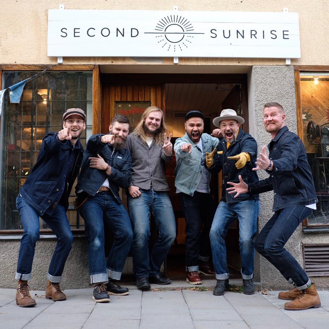 Must-follow Instagrammers Denimhunters, Swedish denim dudes, Second Sunrise