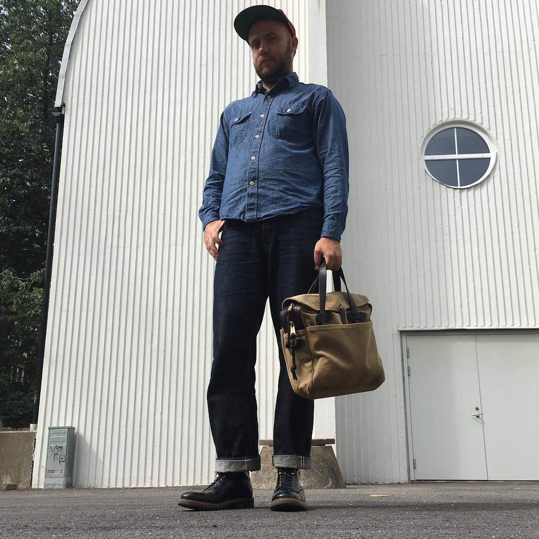 Must-follow Instagrammers, Denimhunters, raw denim, Swedish denim dudes, indigovein