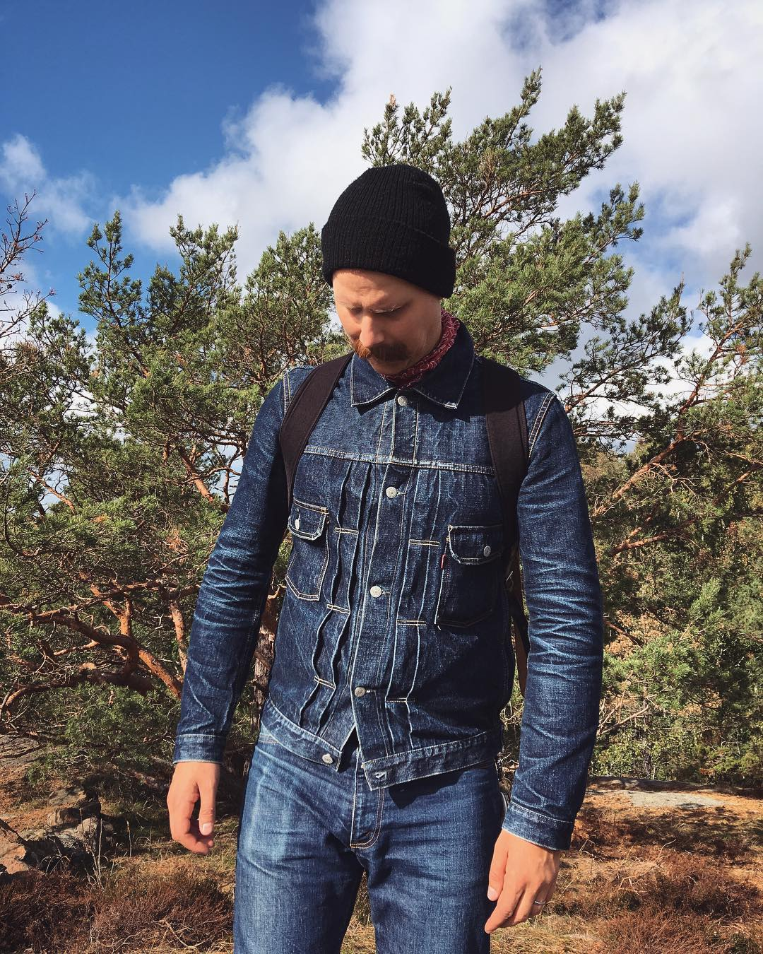 Must-follow Instagrammers, Denimhunters, raw denim, Swedish denim dudes, matz.megatron