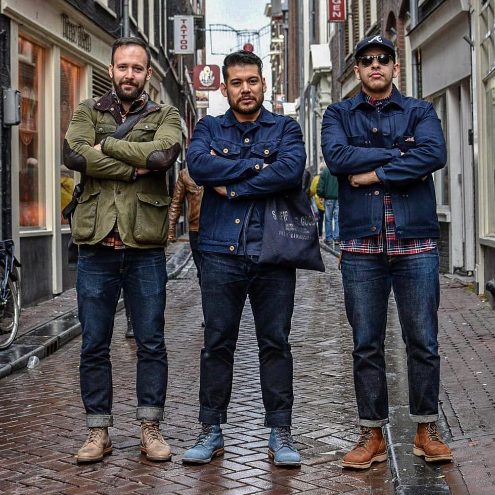 Blue Blooded, Instagrammer, michael.ow.en, Denimhunters, Amsterdam Denim Days