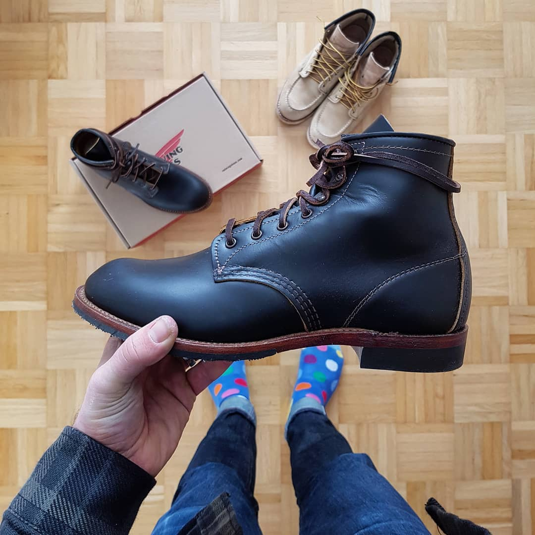 Blue Blooded, Instagrammer, michael.ow.en, Denimhunters, Red Wing, Beckman boots, Klondike leather