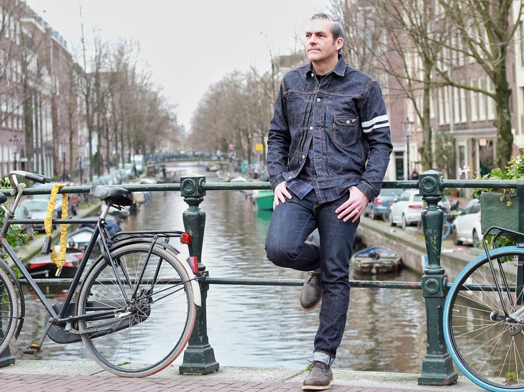 Blue Blooded, Instagrammer, saschgtb, Denimhunters, Amsterdam, Momotaro, Going to Battle, Red Wing boots,