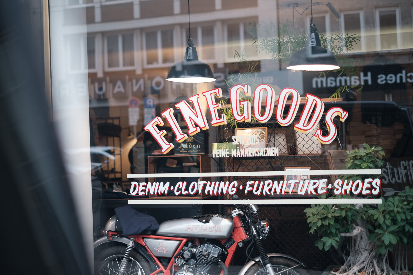 Denimhunters, stuff - fine goods, store review, stuf|f, store front