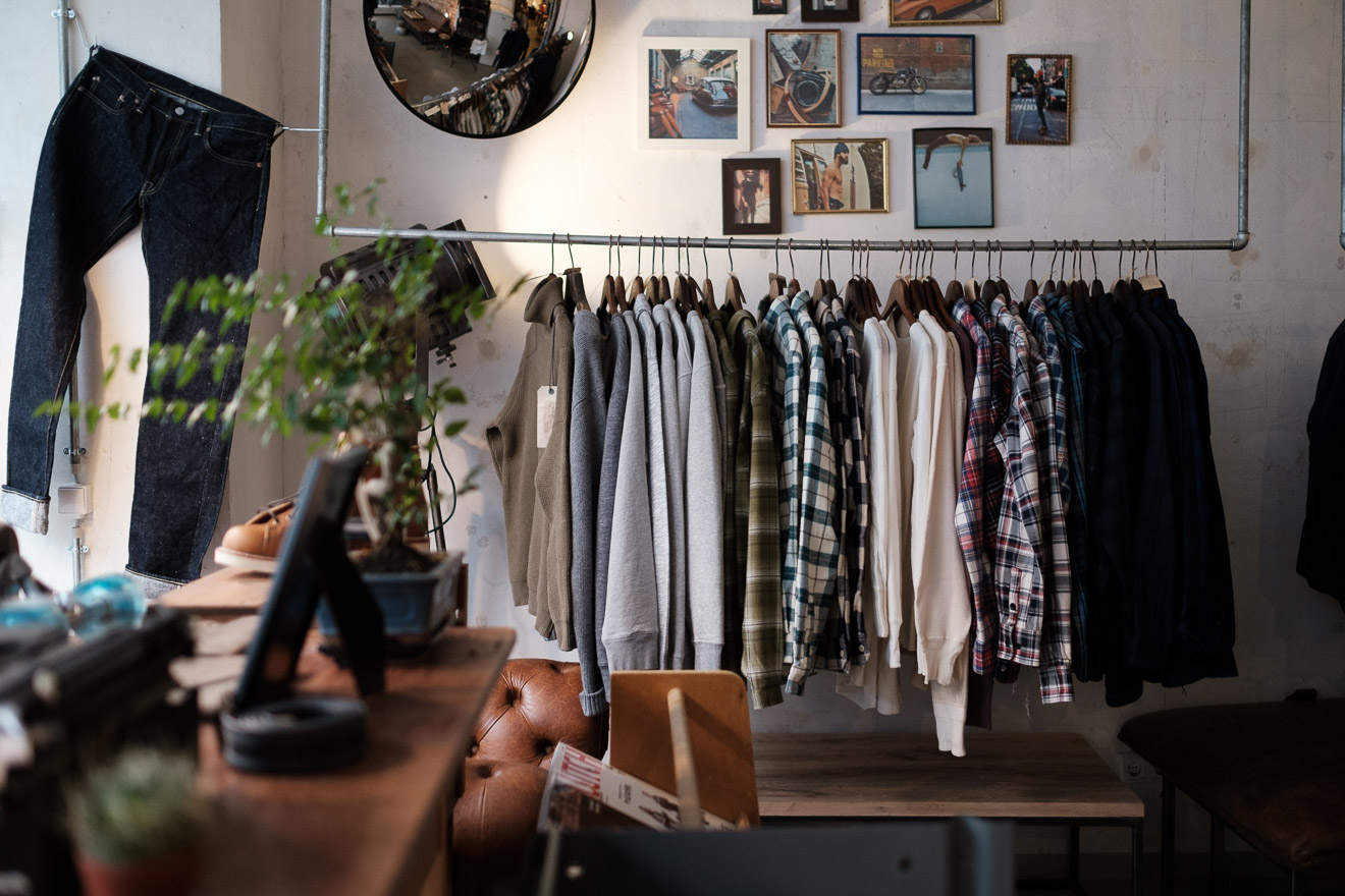 Denimhunters, stuff - fine goods, store review, stuf|f, flannel shirts
