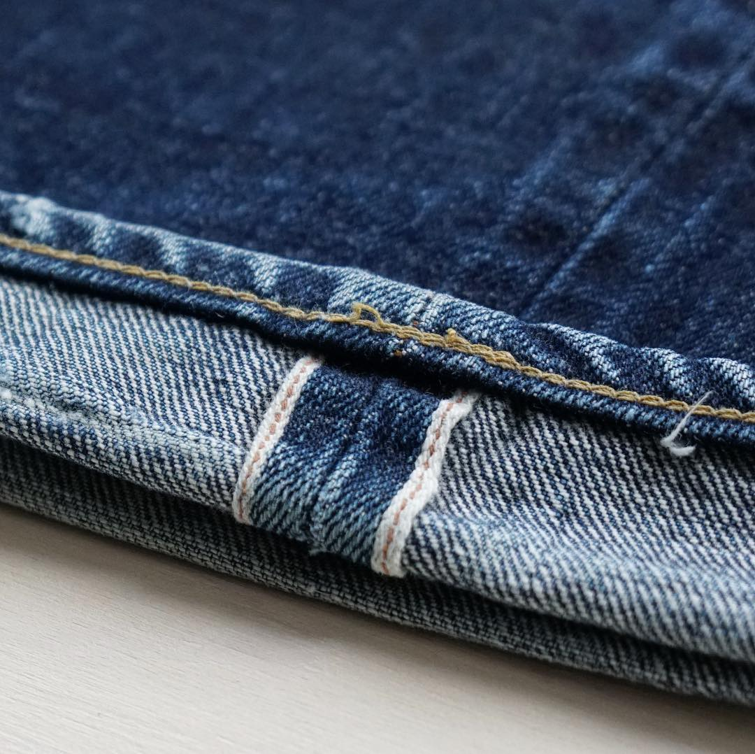 Indigofera Jeans, brand profile, Denimhunters, shrink-to-denim, Japanese denim, unsanforized, selvedge ID, redline selvedge, chain stitch, denim fades,