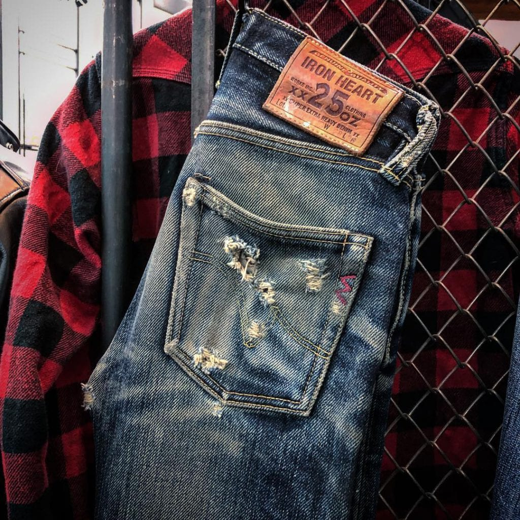 Iron Heart, brand profile, Denimhunters, 25 oz., Japanese denim, selvedge denim, raw denim