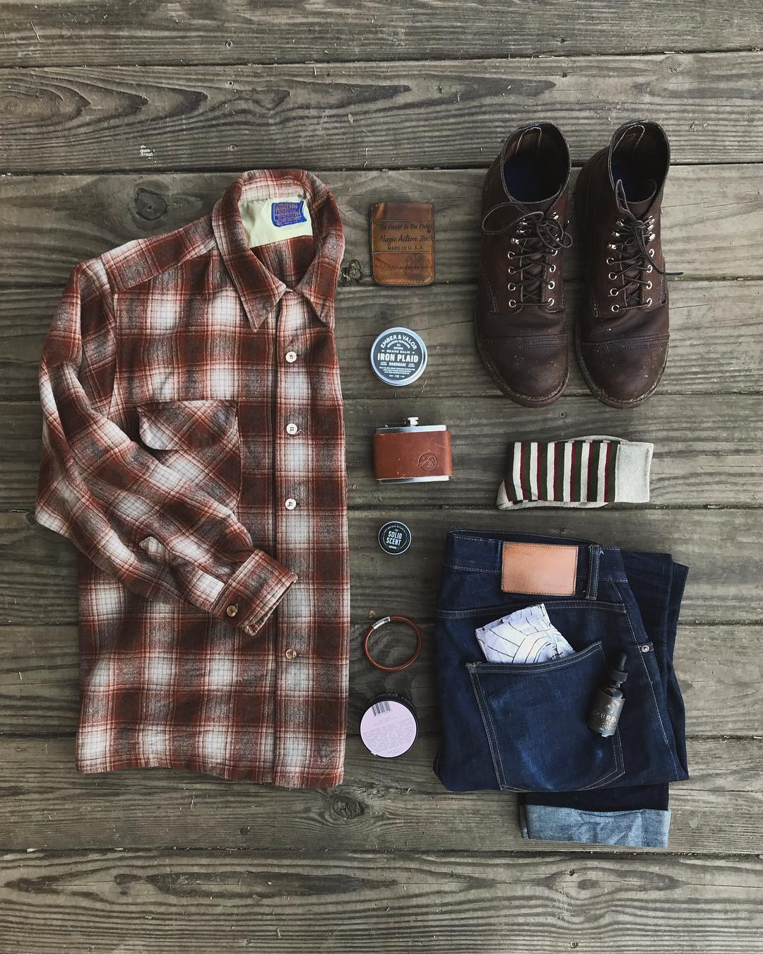 Blue Blooded, Instagrammer, lucaszfitz, Denimhunters, Pendleton, raw denim, selvedge denim, Iron Rangers, Red Wing Heritage