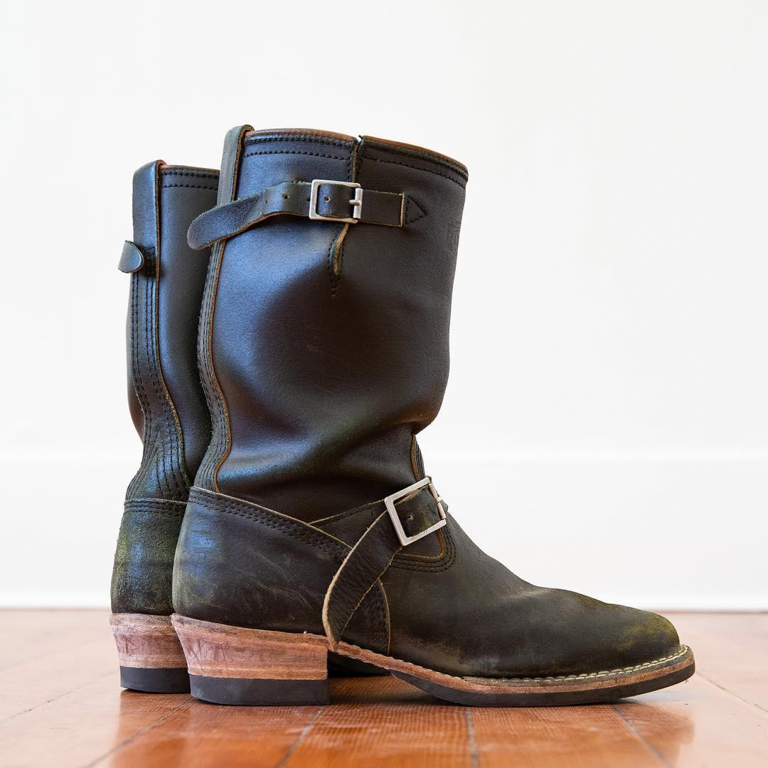 Denim Destination, Standard & Strange, Oakland, Denimhunters, Wesco, collaboration boots, Knuckle Draggers,