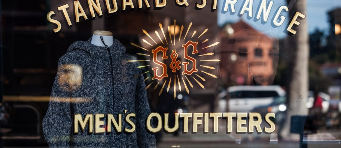 Denim Destination, Standard & Strange, Oakland, Denimhunters,