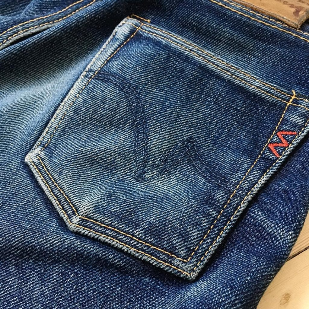Blue Blooded, Instagrammer, redheadbluebottom, Iron Heart, UHR, 888, raw denim, selvedge denim,
