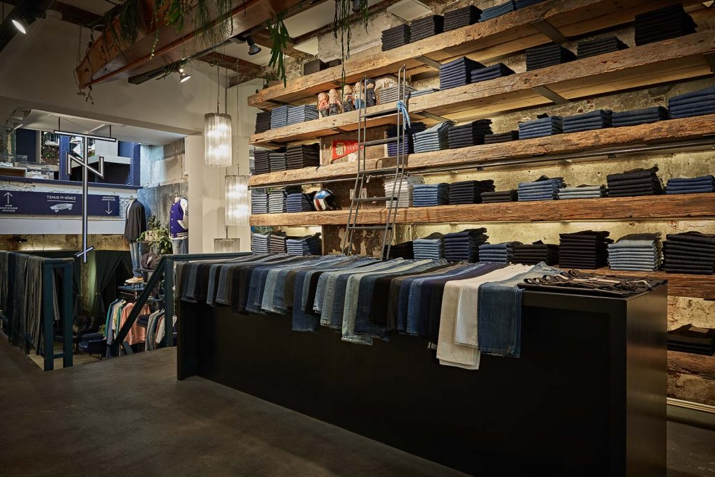 Tenue de Nîmes, Amsterdam, denim store, denim destination, Denimhunters, Sportswear International,